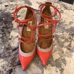 Valentino Garavani coral heels